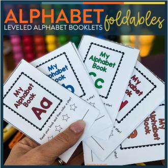 Alphabet Foldable Booklets