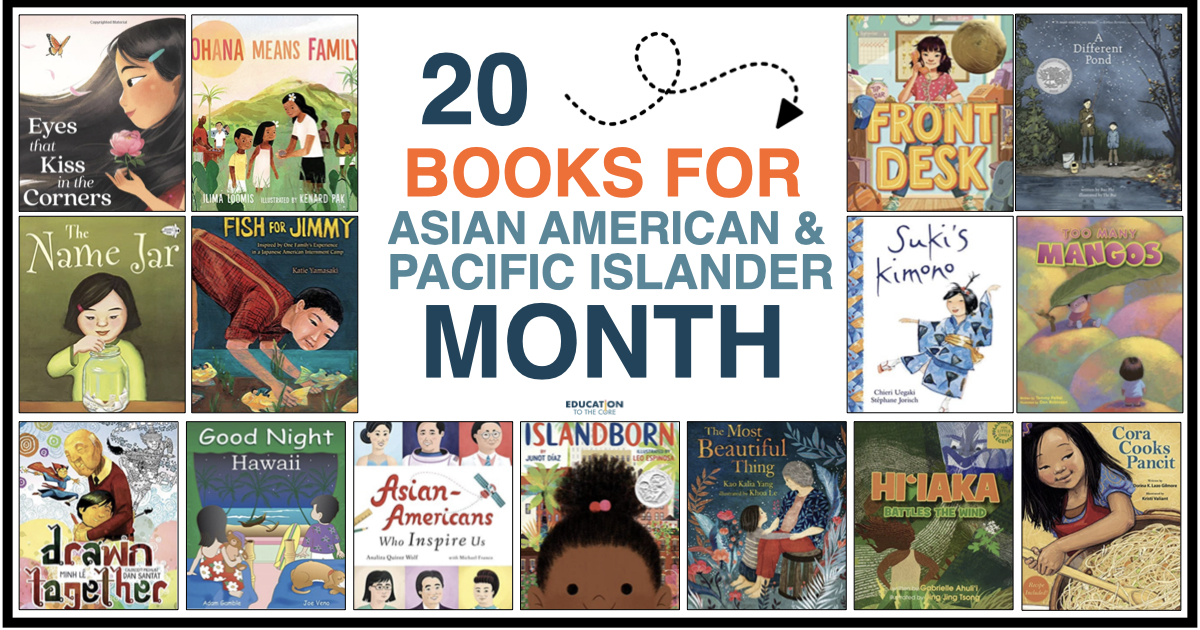 20 Books for Asian American and Pacific Islander Month