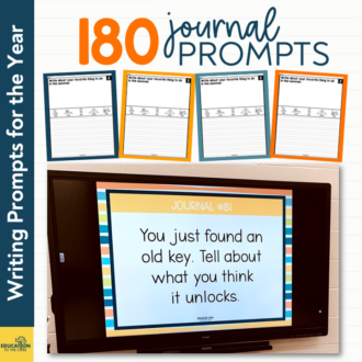 180 Journal Prompts