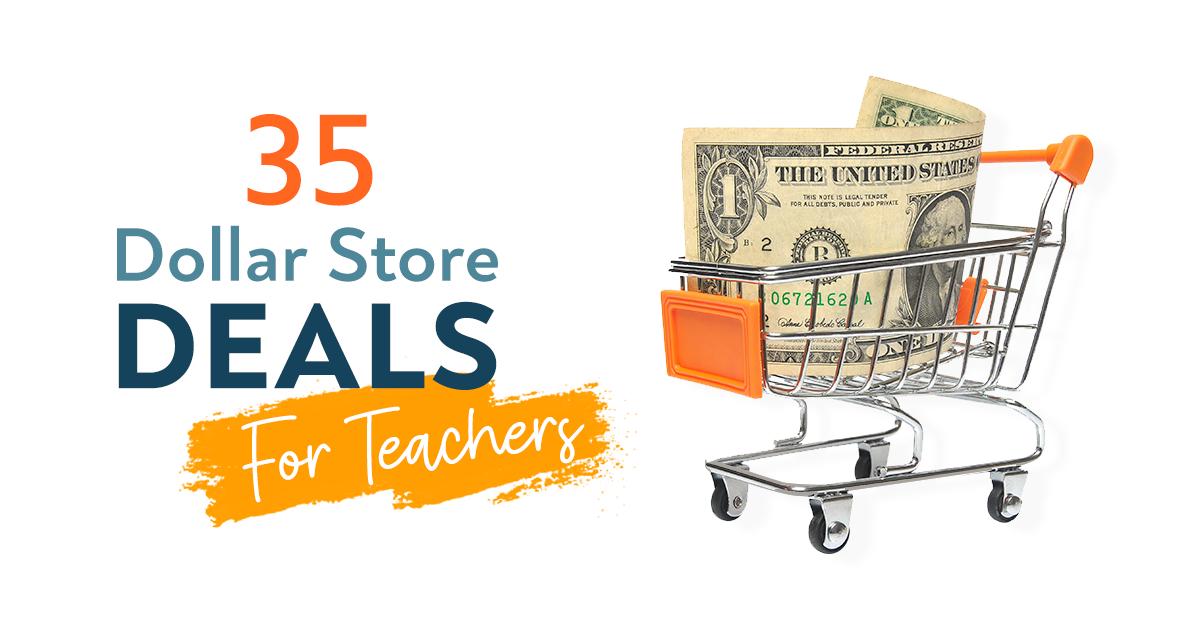 35 Dollar Store Deals for Teachers