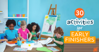 30 Activities for Early Finishers