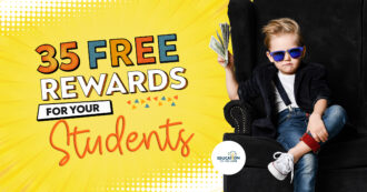 35 Free Rewards For Your Students