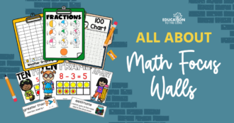 All About Math Focus Walls